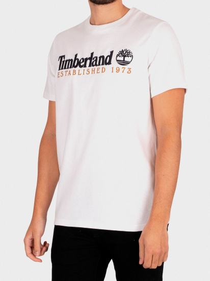 Футболка Timberland Outdoor Heritage Logo модель TB0A2CMA100 — фото - INTERTOP