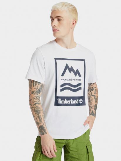 Футболка Timberland Mountain-To-River модель TB0A2FNH100 — фото - INTERTOP