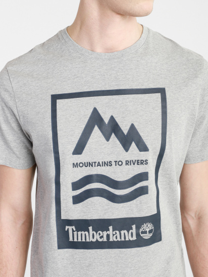 Футболка Timberland Mountain-To-River модель TB0A2FNH052 — фото 4 - INTERTOP