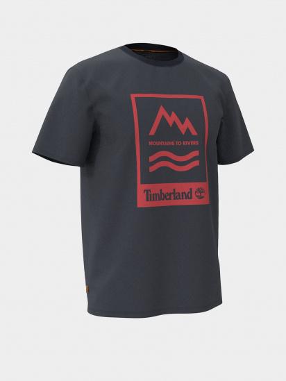 Футболка Timberland Mountain-To-River модель TB0A2FNH433 — фото - INTERTOP