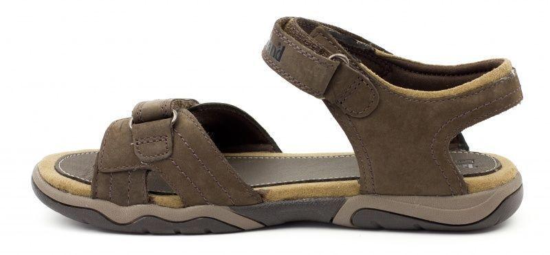 Сандалии детские Timberland OAKBLFFSEKLTH2STRP D DARK BROW TL1243 брендовая обувь, 2017