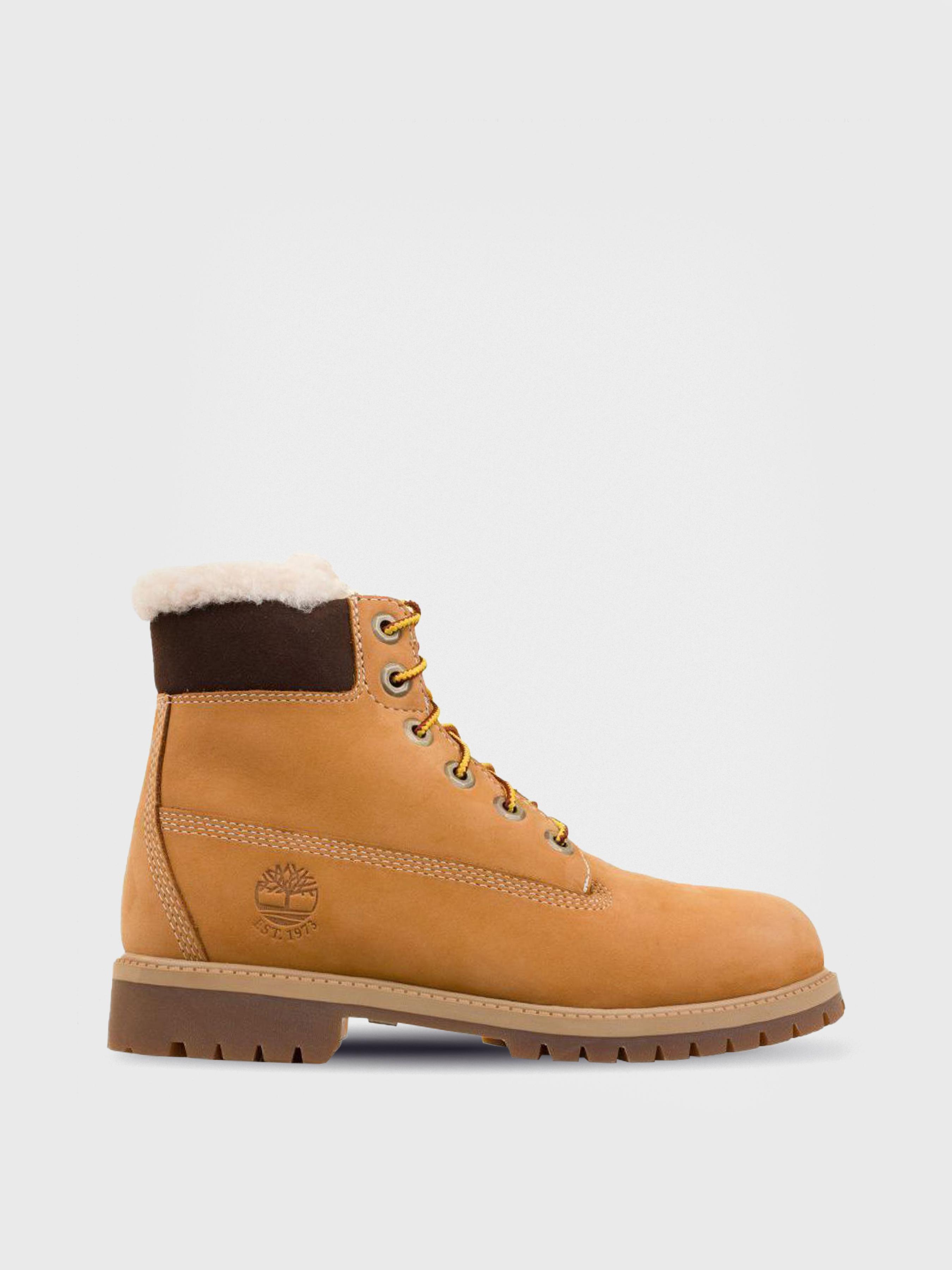 Ботинки для детей Timberland 6 In WPF Warmlined TL1433 цена обуви, 2017