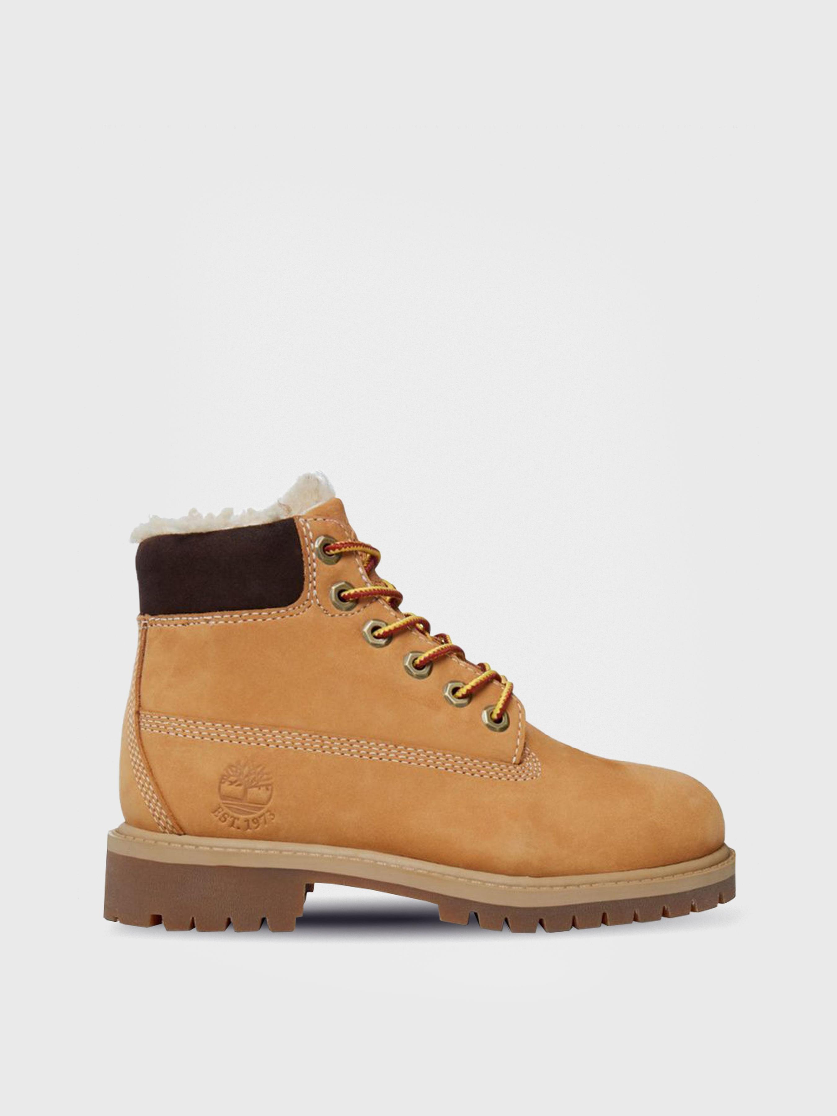 Ботинки детские Timberland модель TL1472. Ботинки для детей Timberland 6 In  WPF Warmlined TL1472 брендовая обувь, 2017 4bcdaf47591