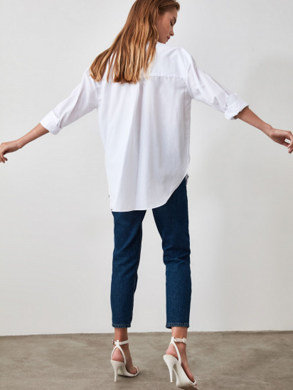 Блуза з довгим рукавом Trendyol модель TWOAW20GO0107/BEYAZ — фото 2 - INTERTOP