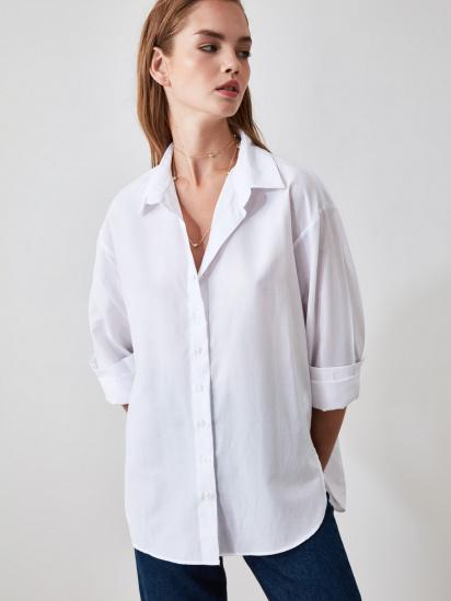 Блуза з довгим рукавом Trendyol модель TWOAW20GO0107/BEYAZ — фото 3 - INTERTOP