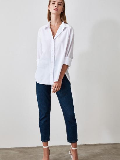 Блуза з довгим рукавом Trendyol модель TWOAW20GO0107/BEYAZ — фото - INTERTOP
