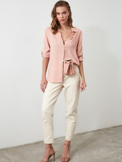 Блуза з довгим рукавом Trendyol модель TWOSS19ST0226/Somon — фото 3 - INTERTOP