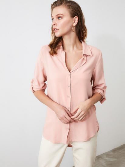 Блуза з довгим рукавом Trendyol модель TWOSS19ST0226/Somon — фото 4 - INTERTOP