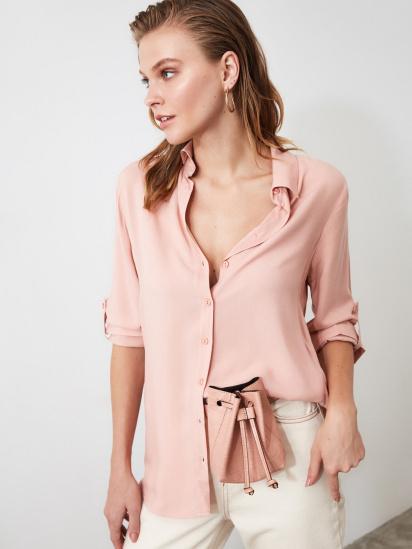 Блуза з довгим рукавом Trendyol модель TWOSS19ST0226/Somon — фото - INTERTOP