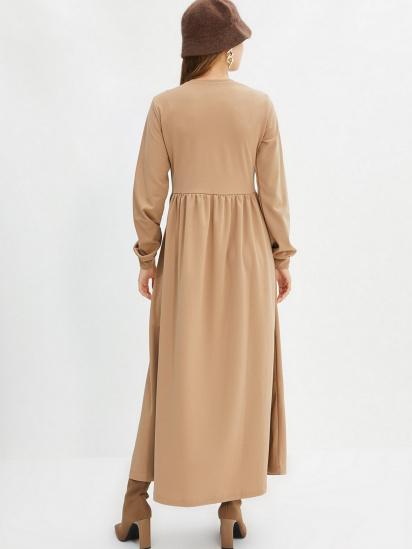 Сукня Trendyol модель TCTAW22EB0023/Bej — фото 2 - INTERTOP