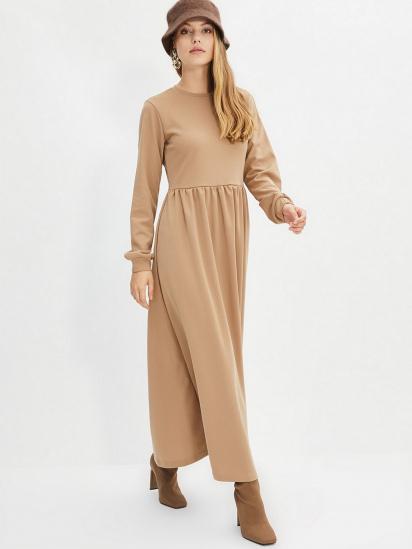 Сукня Trendyol модель TCTAW22EB0023/Bej — фото 3 - INTERTOP