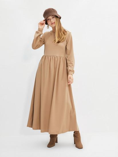 Сукня Trendyol модель TCTAW22EB0023/Bej — фото - INTERTOP