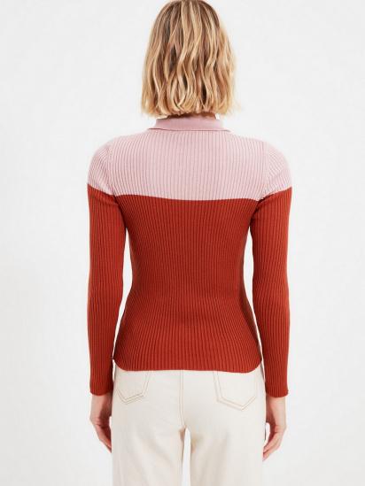 Пуловер Trendyol модель TOFSS19FV0049/Kiremit — фото 2 - INTERTOP