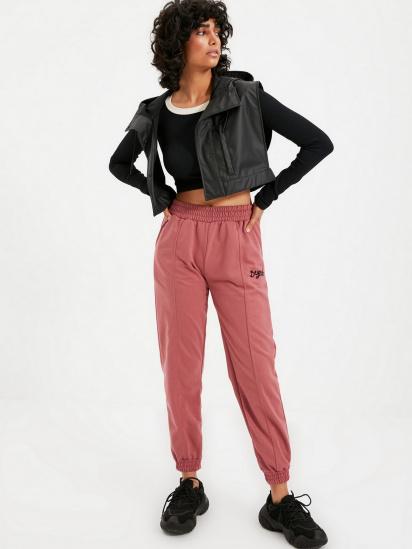 Спортивні штани Trendyol модель TWOAW21EA0049/Gul Kurusu — фото 5 - INTERTOP