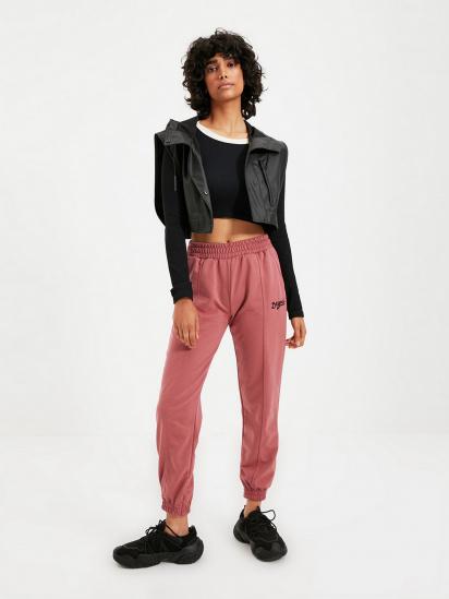 Спортивні штани Trendyol модель TWOAW21EA0049/Gul Kurusu — фото - INTERTOP
