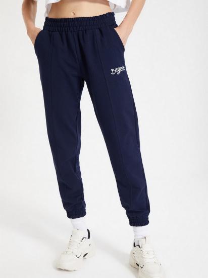 Спортивні штани Trendyol модель TWOAW21EA0049/Lacivert — фото 3 - INTERTOP