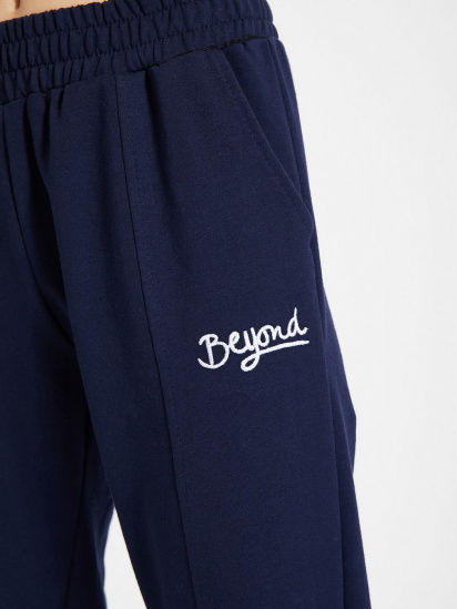Спортивні штани Trendyol модель TWOAW21EA0049/Lacivert — фото 4 - INTERTOP