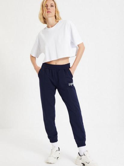 Спортивні штани Trendyol модель TWOAW21EA0049/Lacivert — фото 5 - INTERTOP