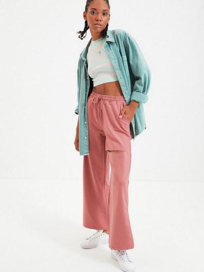 Спортивні штани Trendyol модель TWOAW21EA0116/Gul Kurusu — фото 4 - INTERTOP