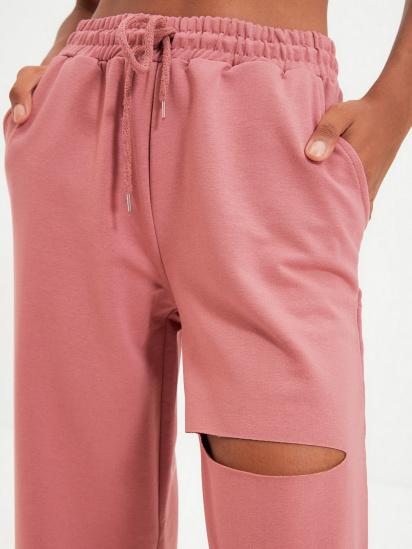 Спортивні штани Trendyol модель TWOAW21EA0116/Gul Kurusu — фото 5 - INTERTOP