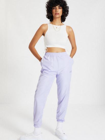 Спортивні штани Trendyol модель TWOAW21EA0200/Lila — фото 2 - INTERTOP