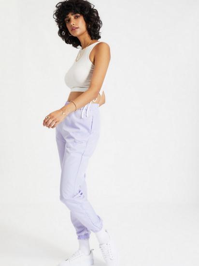 Спортивні штани Trendyol модель TWOAW21EA0200/Lila — фото 5 - INTERTOP