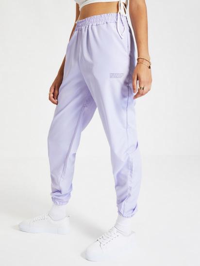 Спортивні штани Trendyol модель TWOAW21EA0200/Lila — фото - INTERTOP