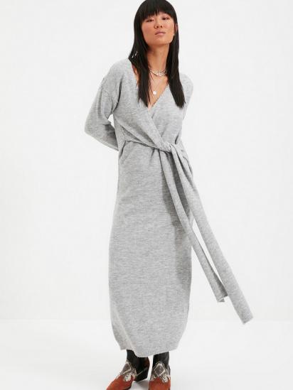 Сукня Trendyol модель TWOAW21EL0260/Gri — фото 3 - INTERTOP