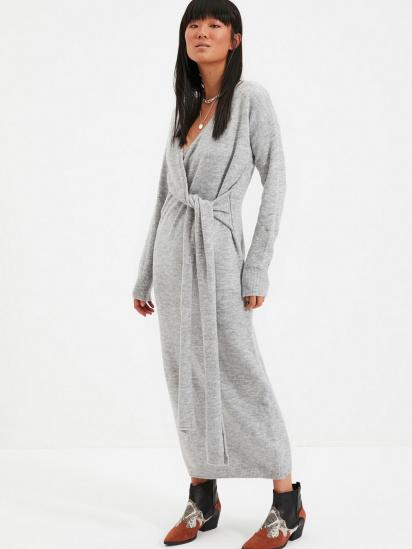 Сукня Trendyol модель TWOAW21EL0260/Gri — фото 4 - INTERTOP