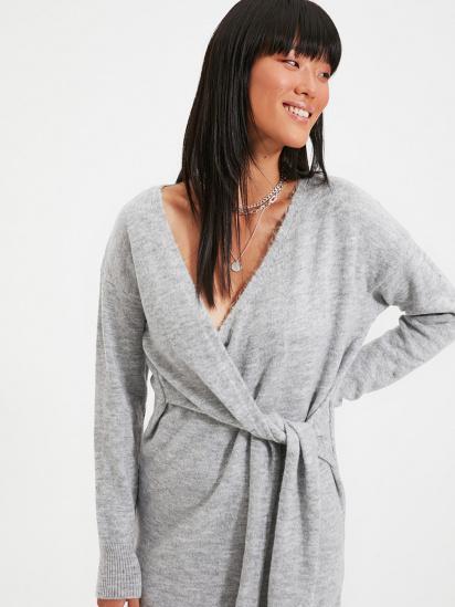 Сукня Trendyol модель TWOAW21EL0260/Gri — фото - INTERTOP