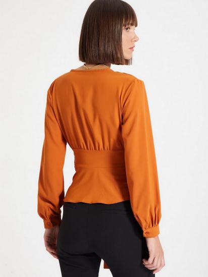 Блуза з довгим рукавом Trendyol модель TWOAW22BZ0098/Kiremit — фото 2 - INTERTOP
