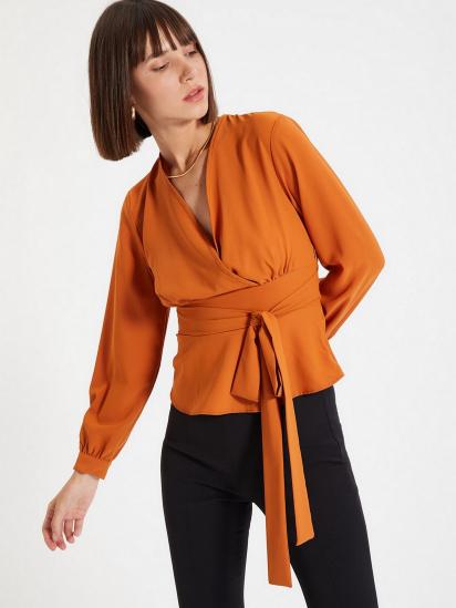 Блуза з довгим рукавом Trendyol модель TWOAW22BZ0098/Kiremit — фото 3 - INTERTOP