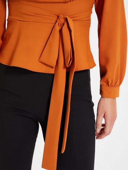 Блуза з довгим рукавом Trendyol модель TWOAW22BZ0098/Kiremit — фото 5 - INTERTOP