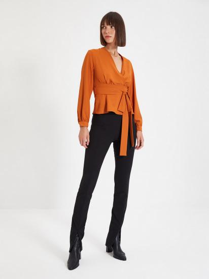 Блуза з довгим рукавом Trendyol модель TWOAW22BZ0098/Kiremit — фото - INTERTOP