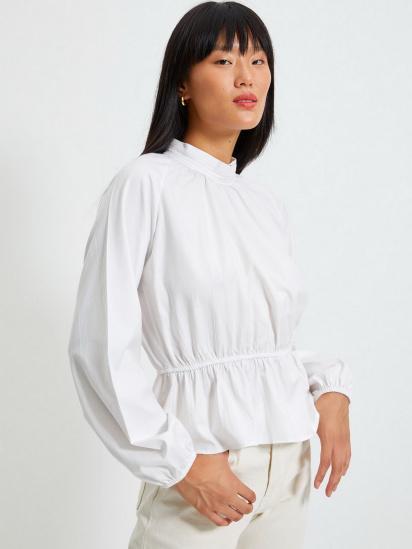 Блуза з довгим рукавом Trendyol модель TWOAW22BZ0101/Ekru — фото - INTERTOP