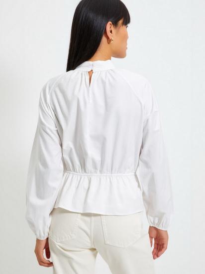 Блуза з довгим рукавом Trendyol модель TWOAW22BZ0101/Ekru — фото 5 - INTERTOP