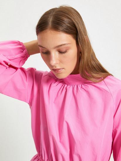 Блуза з довгим рукавом Trendyol модель TWOAW22BZ0101/Pembe — фото 3 - INTERTOP