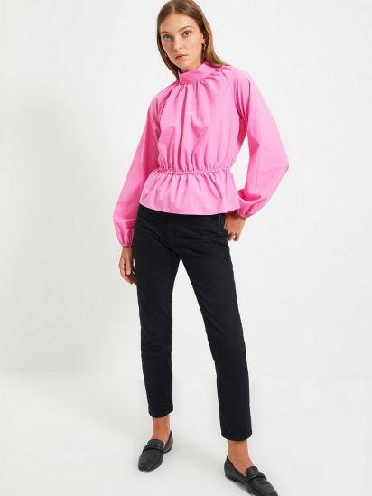 Блуза з довгим рукавом Trendyol модель TWOAW22BZ0101/Pembe — фото 5 - INTERTOP