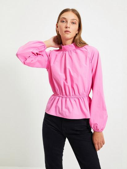 Блуза з довгим рукавом Trendyol модель TWOAW22BZ0101/Pembe — фото - INTERTOP