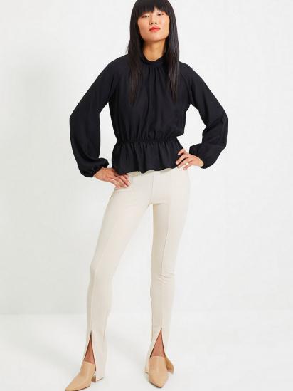 Блуза з довгим рукавом Trendyol модель TWOAW22BZ0101/Siyah — фото 2 - INTERTOP
