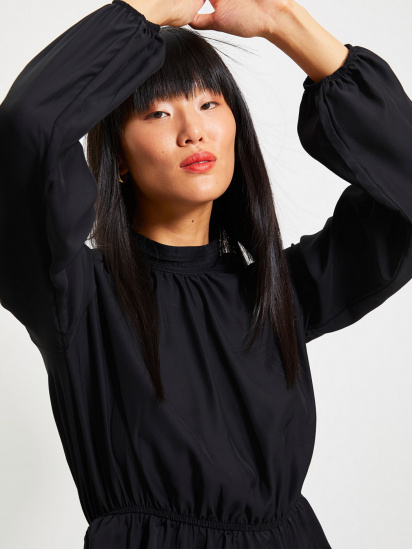 Блуза з довгим рукавом Trendyol модель TWOAW22BZ0101/Siyah — фото 3 - INTERTOP