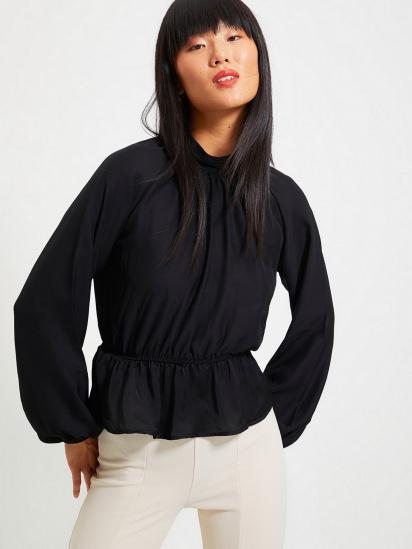 Блуза з довгим рукавом Trendyol модель TWOAW22BZ0101/Siyah — фото 5 - INTERTOP