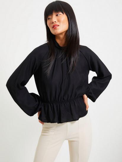 Блуза з довгим рукавом Trendyol модель TWOAW22BZ0101/Siyah — фото - INTERTOP