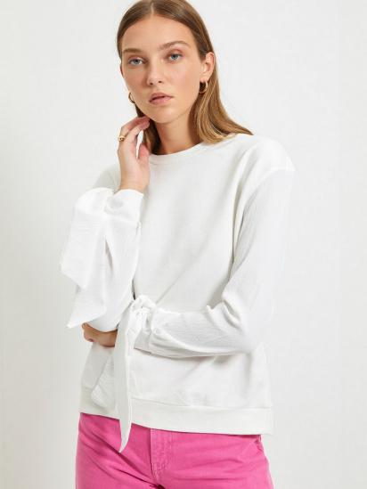 Блуза з довгим рукавом Trendyol модель TWOAW22BZ0106/Ekru — фото 2 - INTERTOP