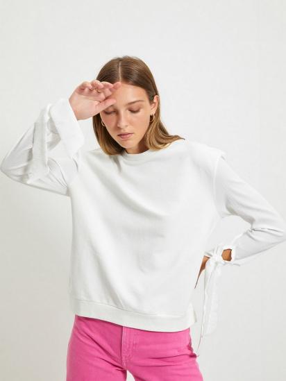 Блуза з довгим рукавом Trendyol модель TWOAW22BZ0106/Ekru — фото 3 - INTERTOP