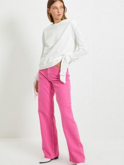 Блуза з довгим рукавом Trendyol модель TWOAW22BZ0106/Ekru — фото 4 - INTERTOP