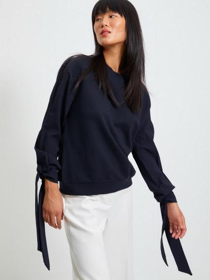 Блуза з довгим рукавом Trendyol модель TWOAW22BZ0106/Lacivert — фото 2 - INTERTOP