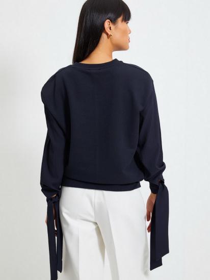 Блуза з довгим рукавом Trendyol модель TWOAW22BZ0106/Lacivert — фото 3 - INTERTOP