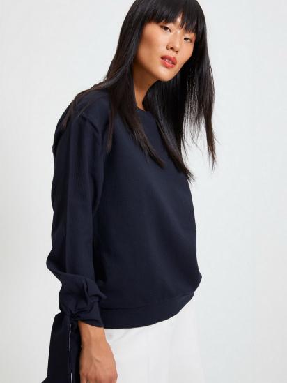 Блуза з довгим рукавом Trendyol модель TWOAW22BZ0106/Lacivert — фото 5 - INTERTOP