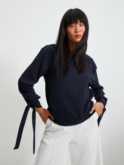 Блуза з довгим рукавом Trendyol модель TWOAW22BZ0106/Lacivert — фото - INTERTOP